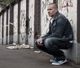 Tim - shot on location in South Leeds for Aimlessness 2