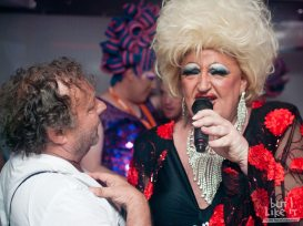 An Audience with Lady Diamond captures Sitges Gay Pride through following it's first lady... ©2013/4