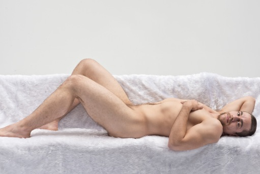 Darren, reclining nude